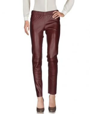 Повседневные брюки MAX & MOI. Цвет: баклажанный