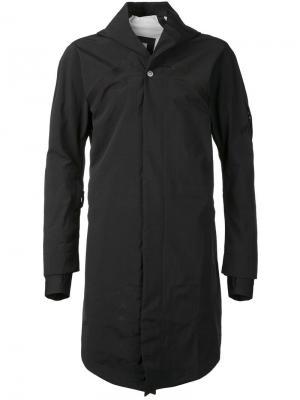 Куртка со светоотражающими полосками 11 By Boris Bidjan Saberi. Цвет: чёрный