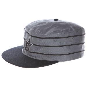 Кепка  Stargell Baseball Pill Box Black/Grey Nor Cal. Цвет: серый,черный