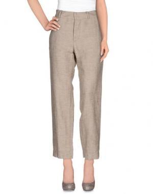 Повседневные брюки HAIKURE. Цвет: бежевый