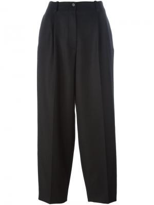 Укороченные брюки со стрелками Nehera. Цвет: чёрный
