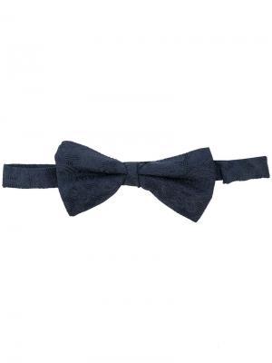 Жаккардовый галстук-бабочка Etro. Цвет: синий