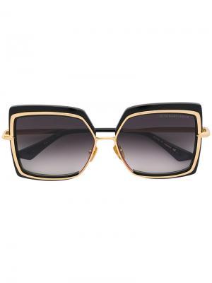 Солнцезащитные очки Narcisus Dita Eyewear. Цвет: чёрный