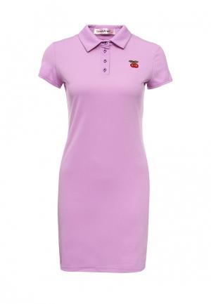 Платье TrendyAngel. Цвет: фиолетовый
