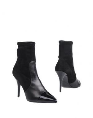 Полусапоги и высокие ботинки ATELIER MERCADAL. Цвет: черный