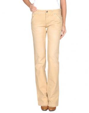 Повседневные брюки PARASUCO CULT. Цвет: песочный