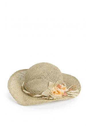 Соломенная шляпа 167766 Germano Zama. Цвет: желтый
