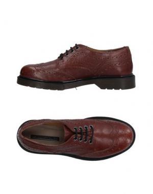 Обувь на шнурках EMANUÉLLE VEE. Цвет: желто-коричневый