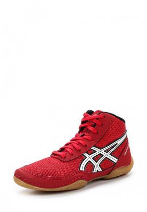 Кроссовки ASICS. Цвет: красный