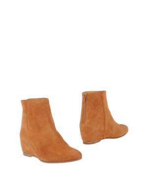 Полусапоги и высокие ботинки SARTORI GOLD. Цвет: верблюжий