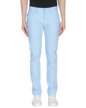 Повседневные брюки MARC JACOBS. Цвет: небесно-голубой