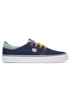 Кеды DC Shoes. Цвет: синий, желтый