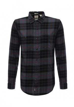 Рубашка Dockers. Цвет: серый