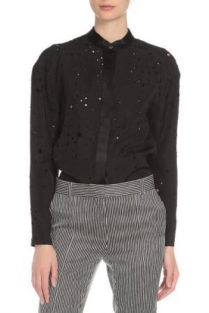 Блуза Alexander Wang. Цвет: черный