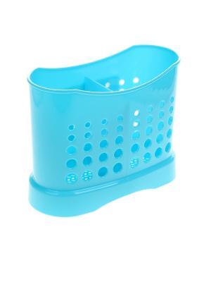 Подставка для столовых приборов Migura. Цвет: голубой