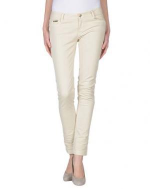 Джинсовые брюки EAN 13. Цвет: бежевый