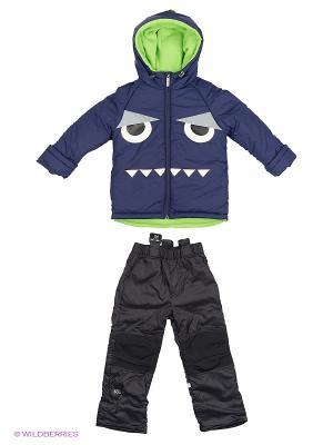 Комплект одежды BOOM. Цвет: черный, темно-синий