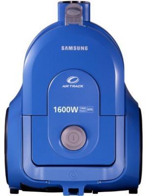 Безмешковый пылесос Samsung SC4326, синий. Цвет: черный, синий