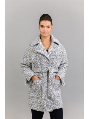 Пальто Socrat. Цвет: серый