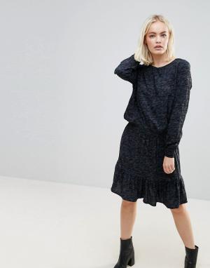 B.Young Платье-туника с заниженной талией. Цвет: мульти