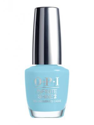 Opi Infinite Shine Лак для ногтей I Believe in Manicures, 15 мл. Цвет: голубой