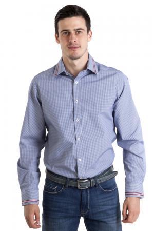 Рубашка с длинным рукавом Just Valeri. Цвет: разноцветный