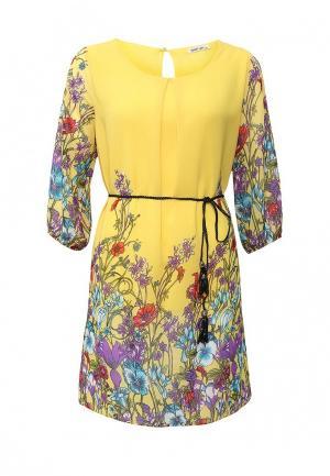 Платье Sweet Lady. Цвет: желтый