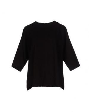 Блузка TROU AUX BICHES. Цвет: темно-коричневый