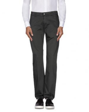 Повседневные брюки NOTIFY. Цвет: свинцово-серый