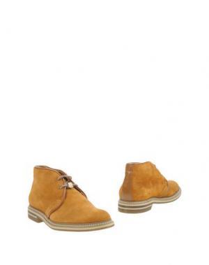 Полусапоги и высокие ботинки BRIMARTS. Цвет: охра