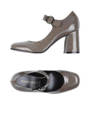 Туфли ELIANA BUCCI. Цвет: серый