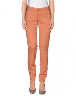 Повседневные брюки DEKKER. Цвет: телесный