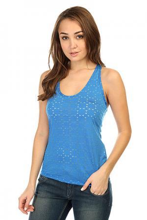 Майка женская  Spike T-Shirt Blue CajuBrasil. Цвет: синий