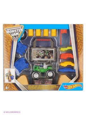 Игровой набор серии Monster Jam Hot Wheels. Цвет: коричневый, желтый, синий