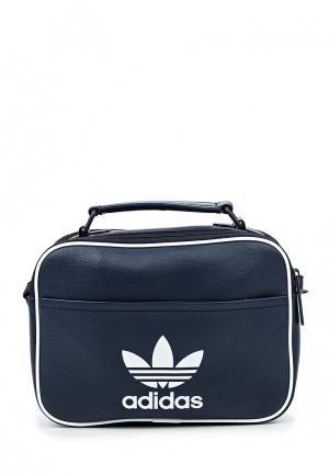 Сумка adidas Originals. Цвет: синий