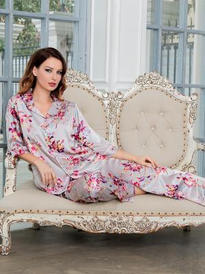 Пижама MIA-AMORE. Цвет: серый