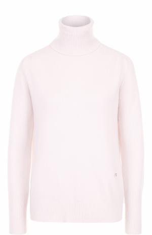 Кашемировый свитер прямого кроя Victoria Beckham. Цвет: розовый