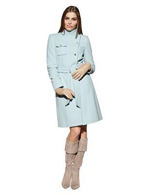 Пальто APART. Цвет: светло-голубой