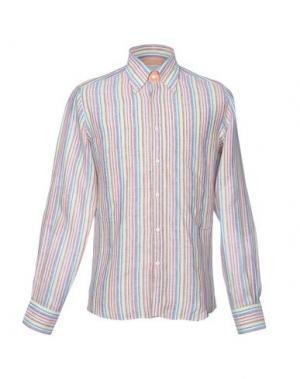 Pубашка HARRY & SONS. Цвет: кислотно-зеленый