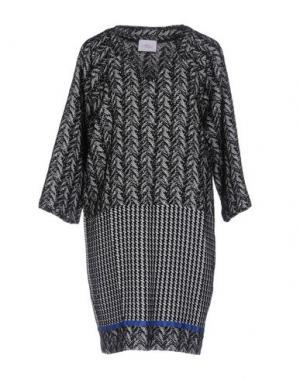 Короткое платье VIOLET ATOS LOMBARDINI. Цвет: черный
