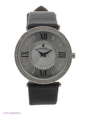 Часы Jacques du Manoir. Цвет: серебристый