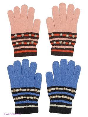 Перчатки FOMAS. Цвет: коралловый, черный, коричневый, голубой