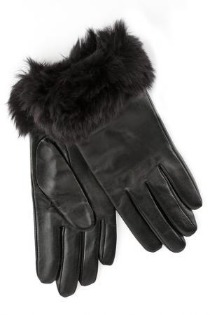 Перчатки RITA PFEFFINGER. Цвет: черный