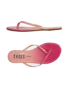 Вьетнамки TKEES. Цвет: розовый