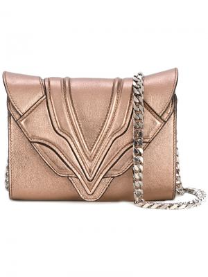 Magic Metal shoulder bag Elena Ghisellini. Цвет: металлический