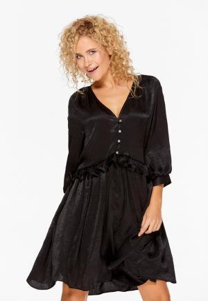 Платье SoloU. Цвет: черный