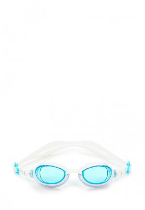 Очки для плавания Speedo. Цвет: белый