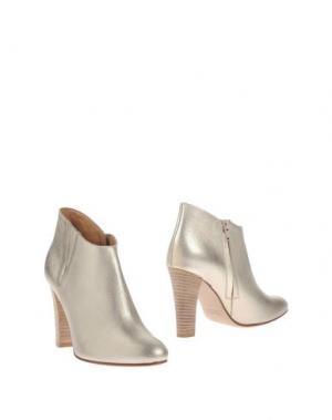 Полусапоги и высокие ботинки ANNA F.. Цвет: платиновый