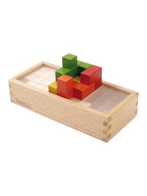 Развивающая игра Магический куб Beleduc. Цвет: светло-голубой