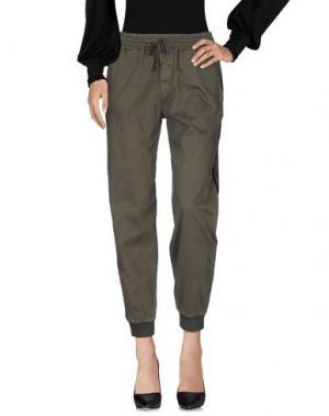 Повседневные брюки KAOS JEANS. Цвет: зеленый-милитари
